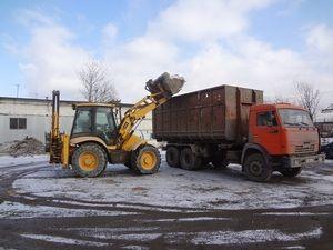 вывоз снега после уборки